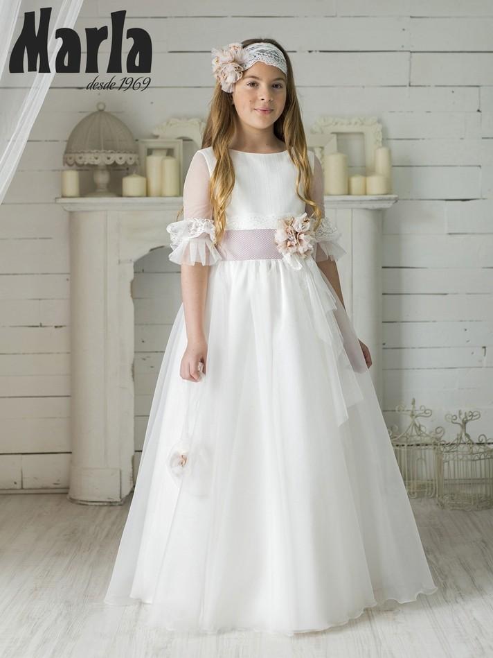 Vestido Comunión Marla 2020 Mod K101