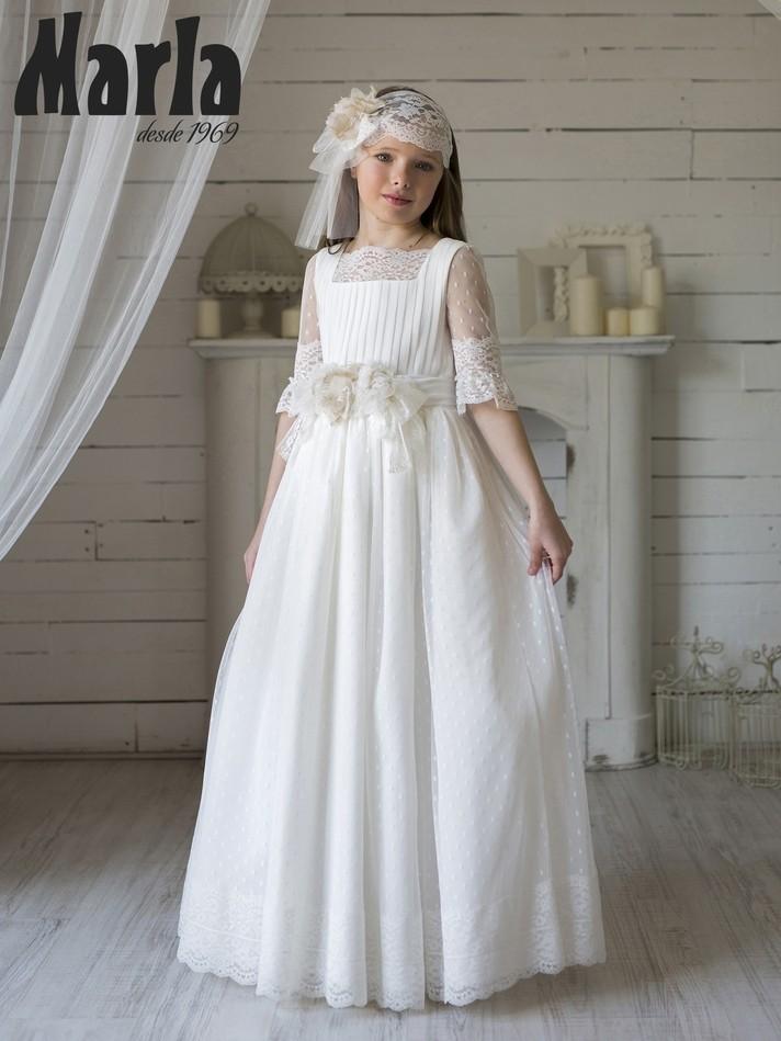 Vestido Comunión Marla 2020 Mod K132