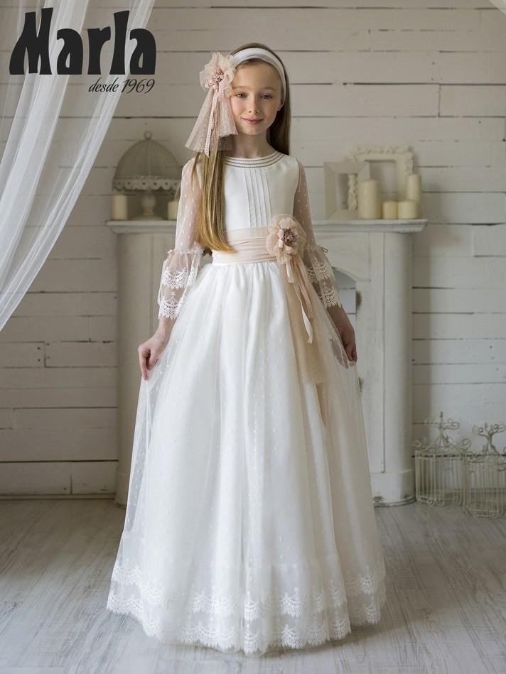 Vestido Comunión Marla 2020 Mod k133
