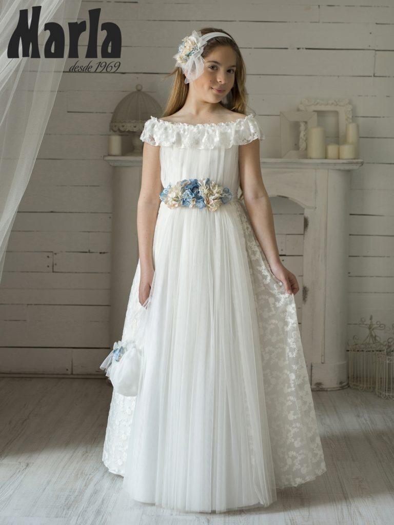 Tendencias en vestidos de comunión para niña 2020 3