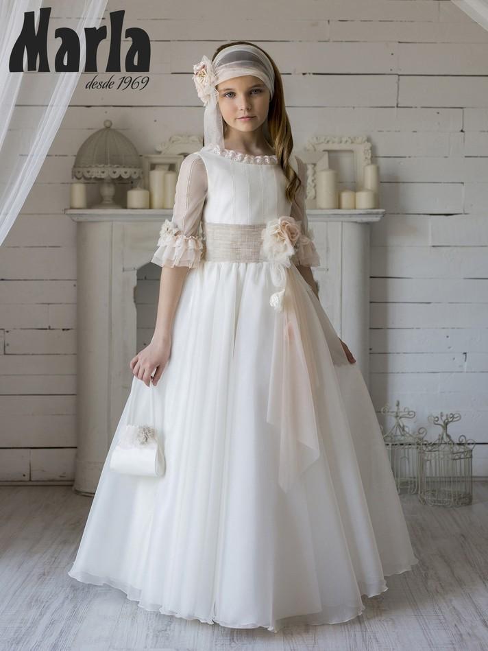 Vestido de Comunión 2020 Marla K171