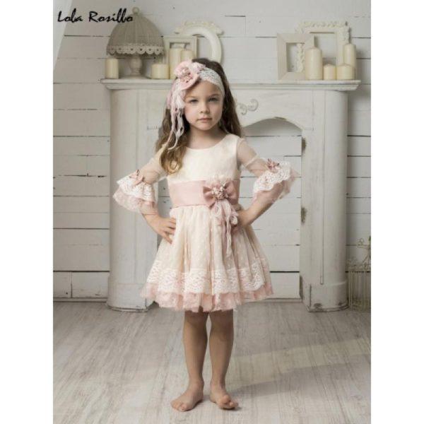 Vestido Arras y Ceremonia Lola Rosillo Mod 7261