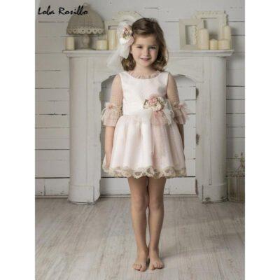 Vestido Arras y Ceremonia Lola Rosillo Mod 7260