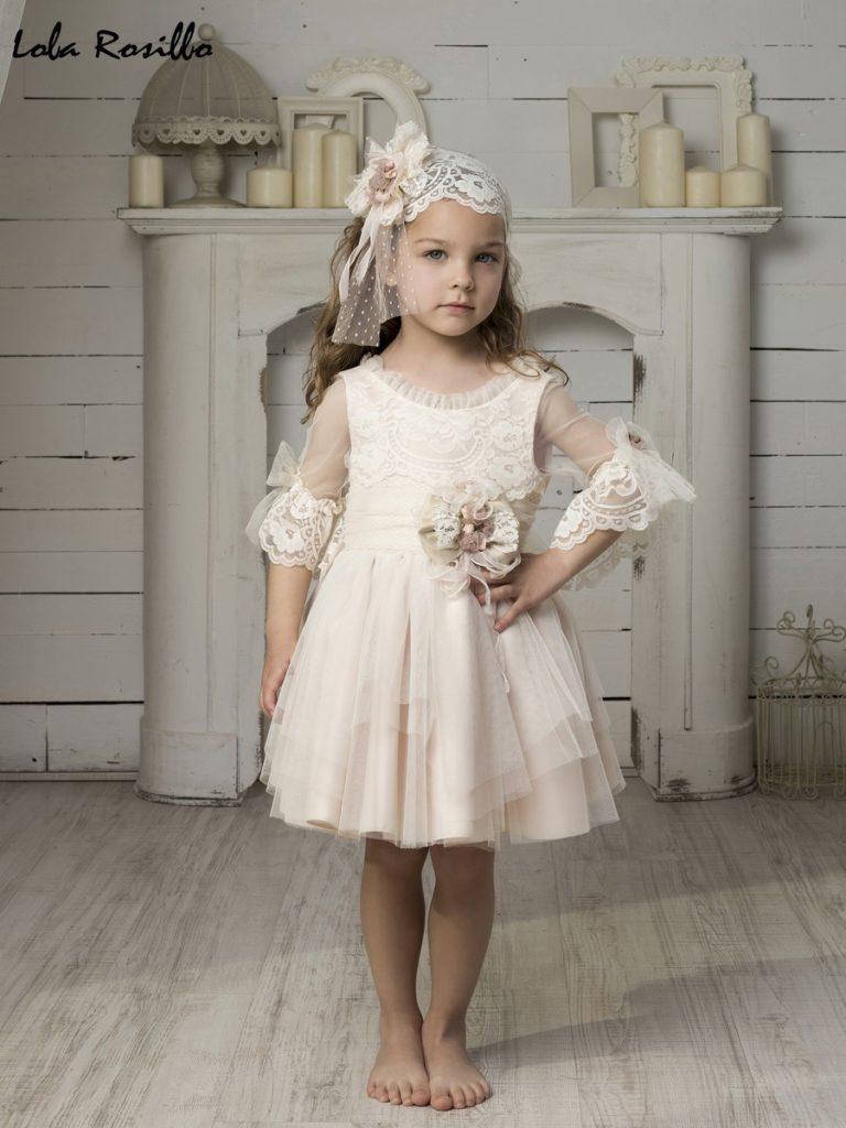 Vestido Arras y Ceremonia Lola Rosillo Mod 7262