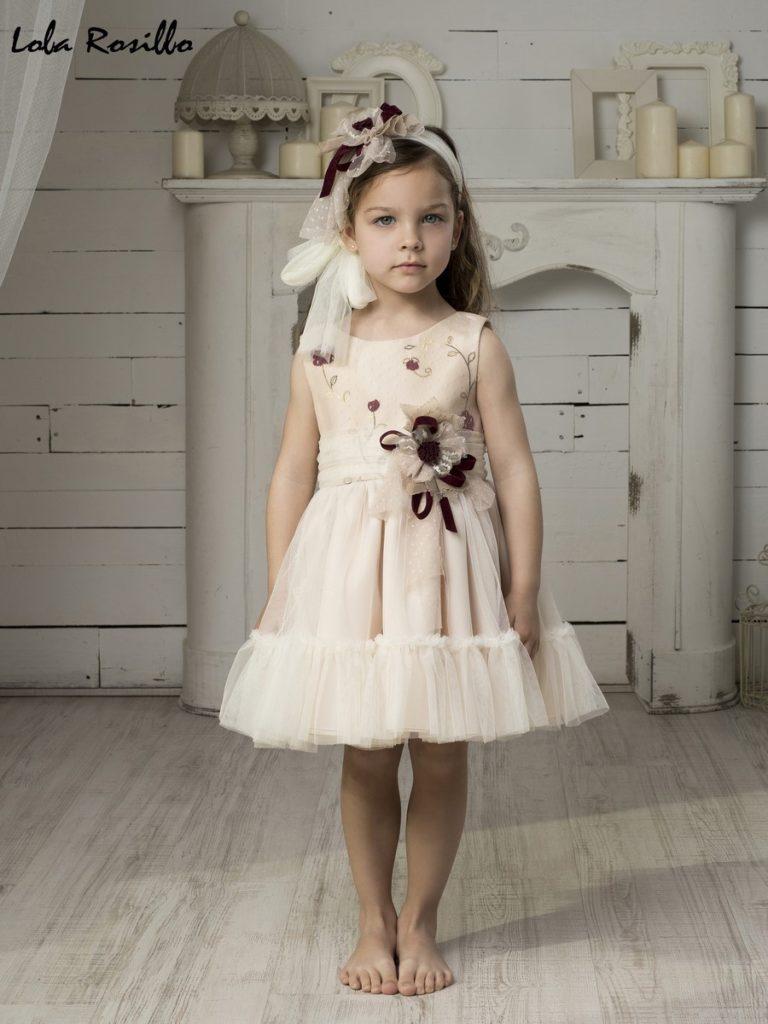 Vestido Arras y Ceremonia Lola Rosillo Mod 7263