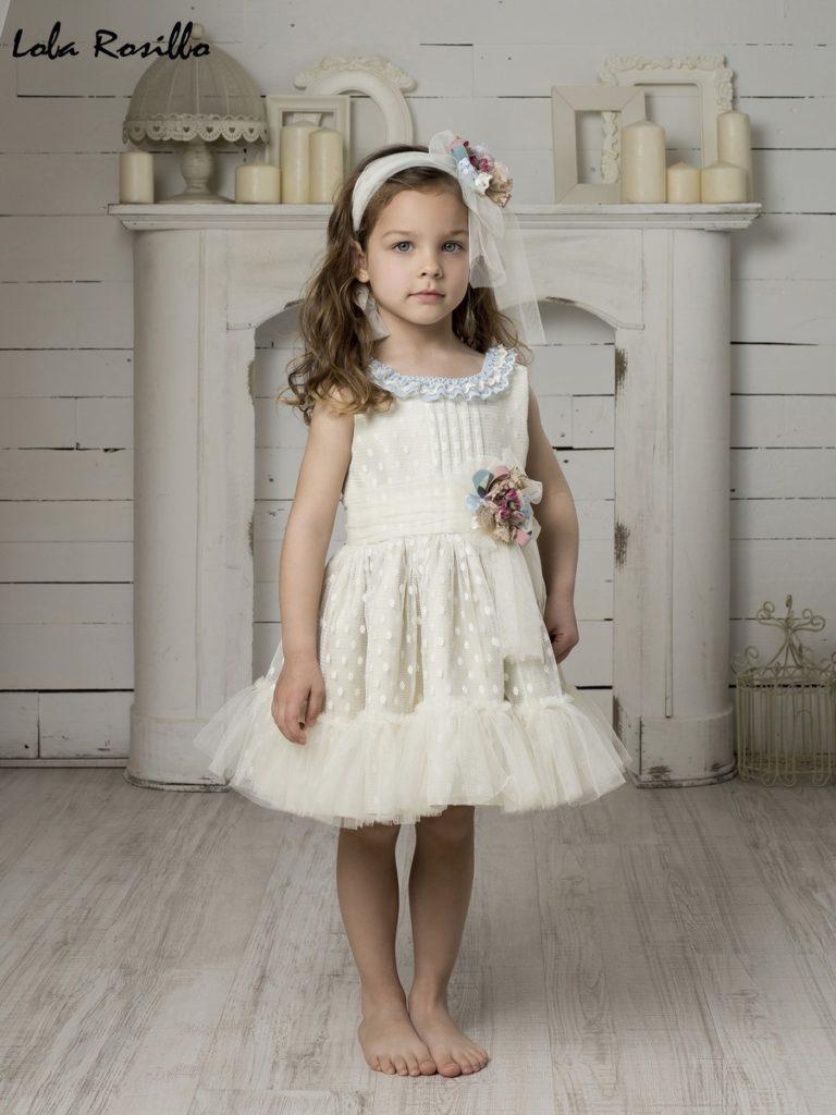 Vestido Arras y Ceremonia Lola Rosillo Mod 7267