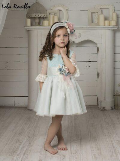 Vestido Arras y Ceremonia Lola Rosillo Mod 7273