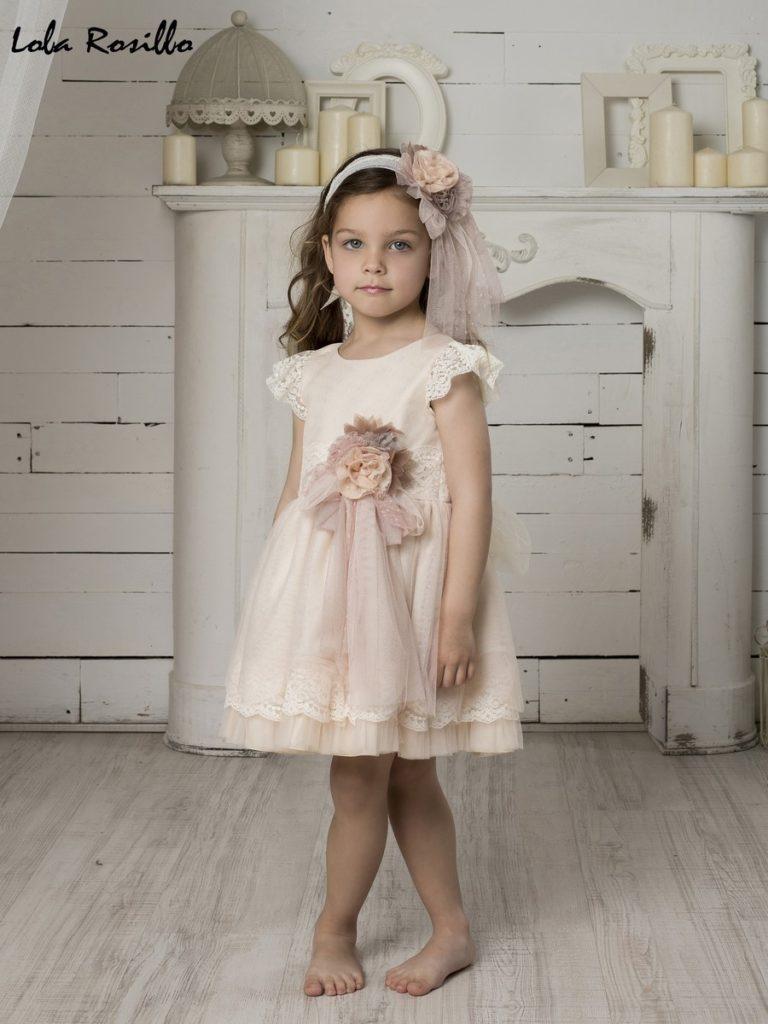 Vestido Arras y Ceremonia Lola Rosillo Mod 7275