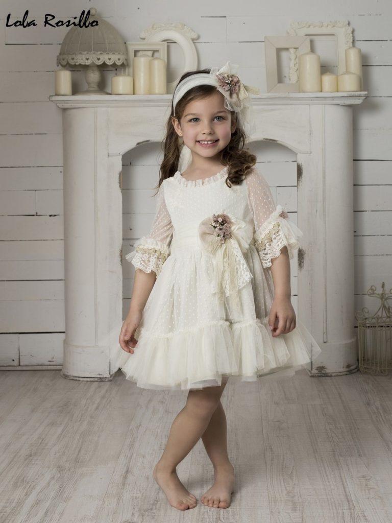Vestido Arras y Ceremonia Lola Rosillo Mod 7278