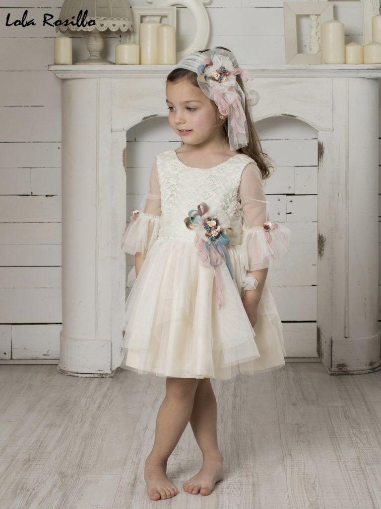 Vestido Arras y Ceremonia Lola Rosillo Mod 7279