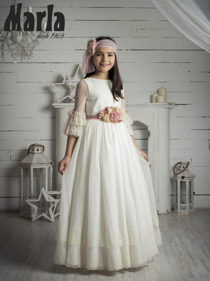 Vestido comunión 2020 Marla Modelo K147 1