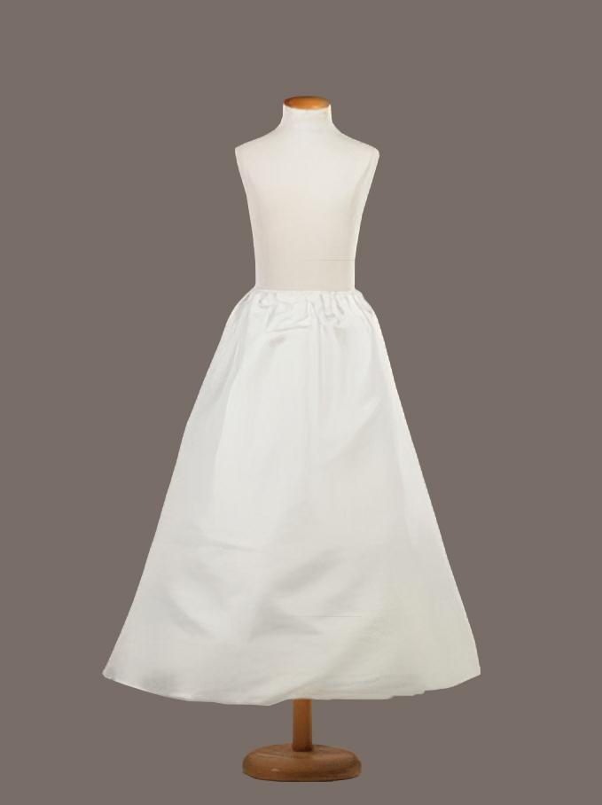 Cancan para vestido de comunión. Volumen Medio en tejido raso 1