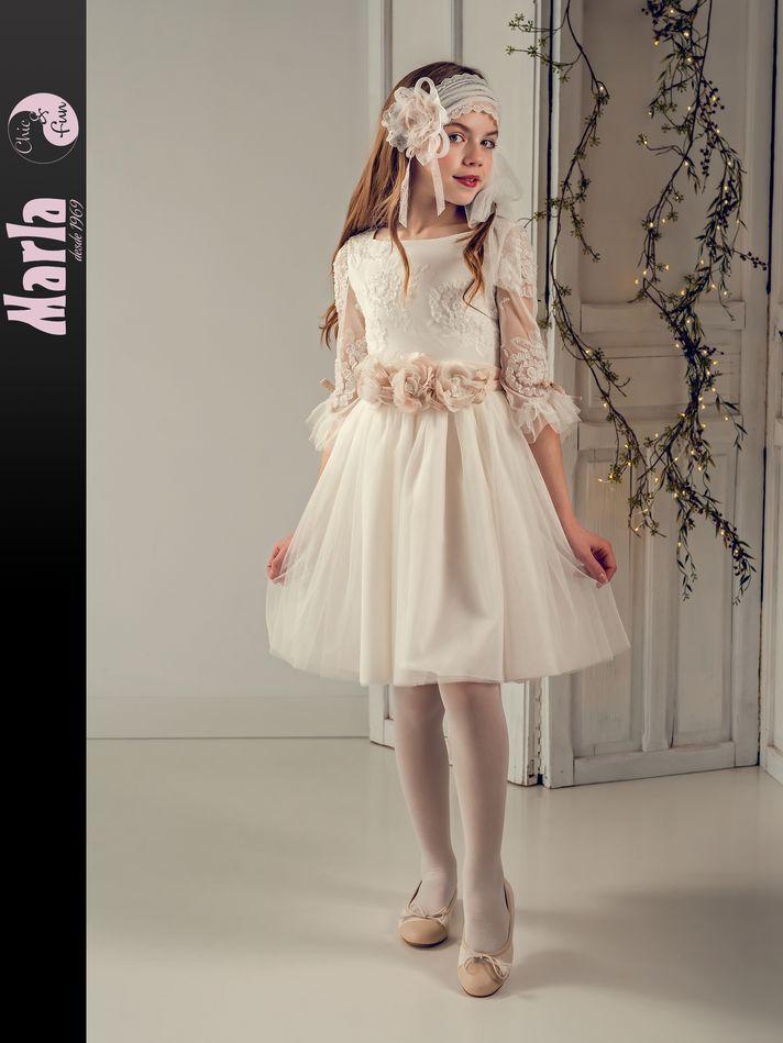 Vestido de Comunión Marla modelo J189 4
