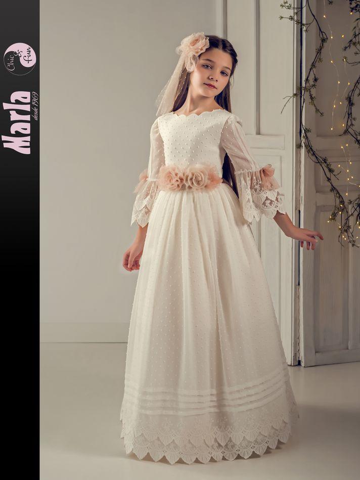 Vestido de Comunión Marla modelo J190 2