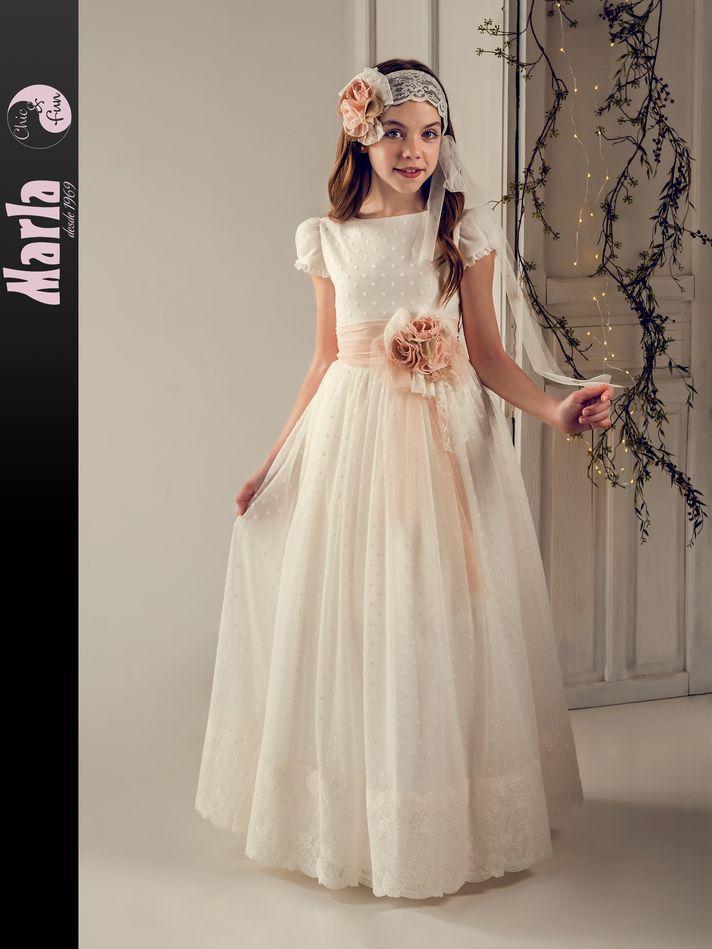 Vestido de Comunión Marla modelo J191 2